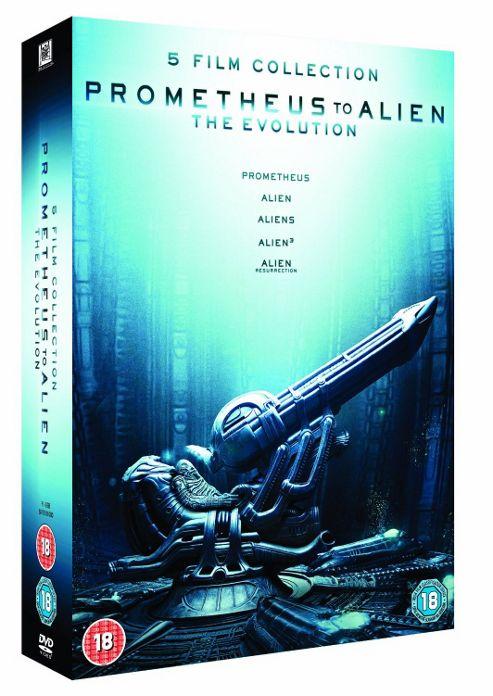 Prometheus To Alien DVD Box Set