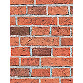 Red Brick Effect Wallpaper - 7798-16