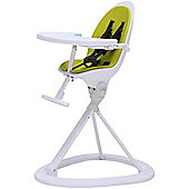 ickle bubba Orb Highchair (White/Lime)