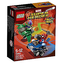 LEGO Super Heroes Mighty Micros: Spiderman vs. Green Goblin 76064