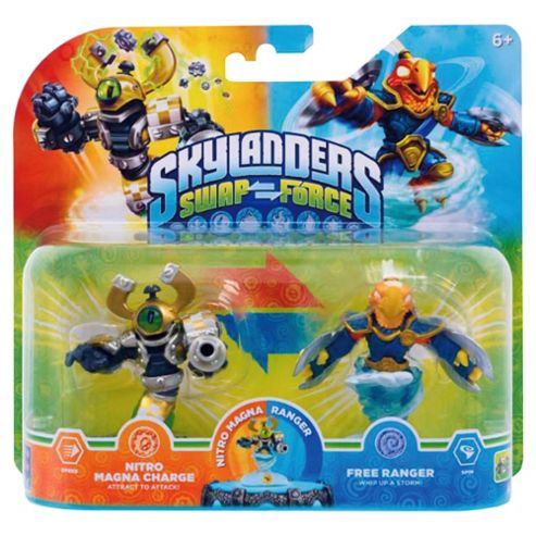 Tesco Exclusive Double Pack : Nitro Magna Charge And Free Ranger