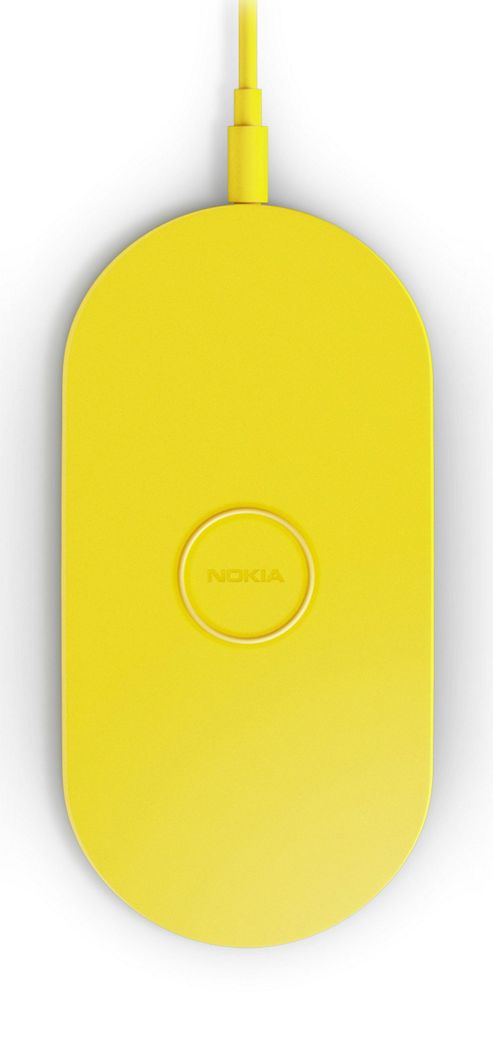 Nokia DT-900 Wireless Charging Plate for Nokia Lumia 820/920 Yellow