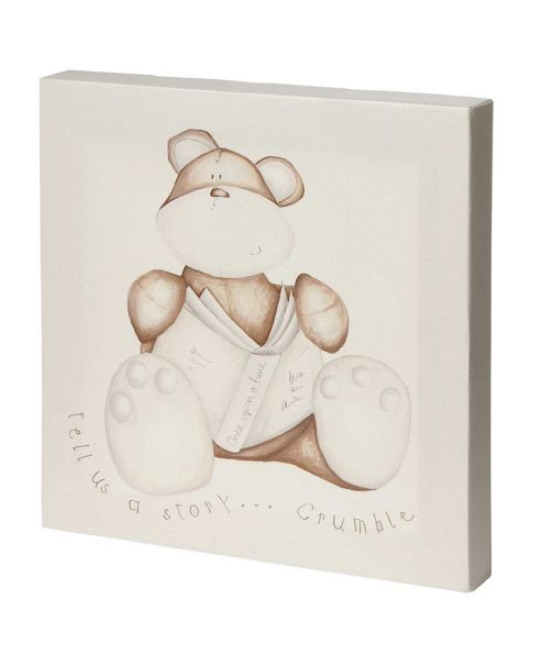 Mamas & Papas - Once Upon a Time - Canvas Picture - Crumble Bear
