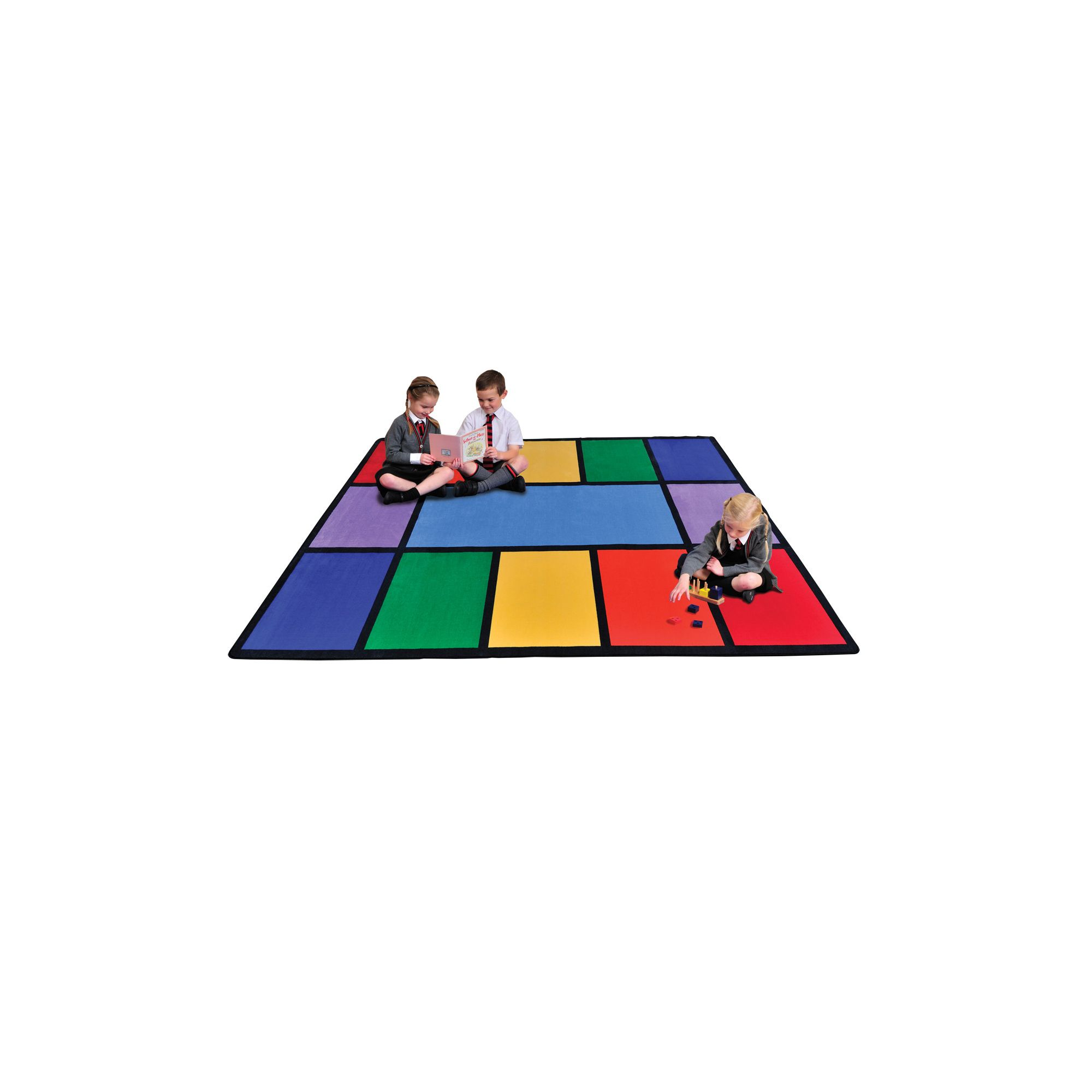 Liberty House Toys Rainbow Rug at Tesco Direct