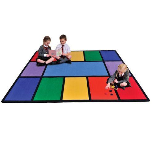 Liberty House Toys Rainbow Rug