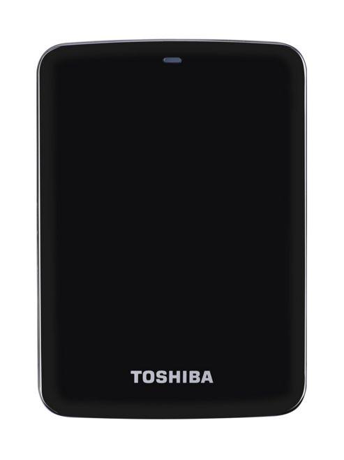Toshiba Stor.E Canvio 2TB 2.5 inch External Hard Drive USB 3.0 (Black)