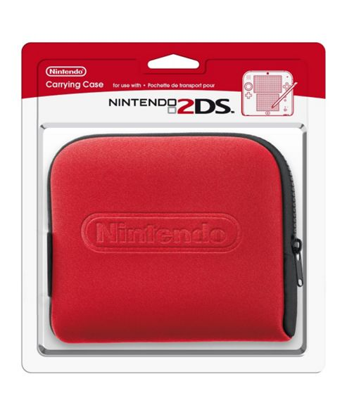 Nintendo 2DS Carrying Case Red