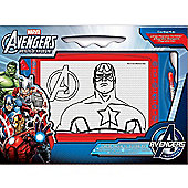 The Avengers Magnetic Scribbler