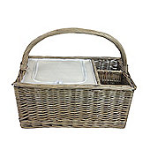 Wicker Valley Chiller Partition Basket