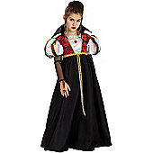 Royal Vampira - Child Costume 5-7 years