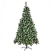 8ft Christmas Tree, Frosted Emperor