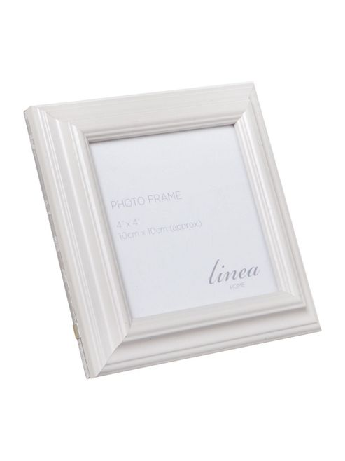 Linea Grey Photo Frame, 4 X 4 In Grey New