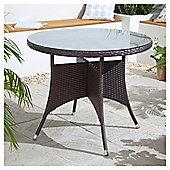 Rattan Garden Table