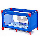 Hauck Dream n Play Go V Travel Cot (Mickey Blue)