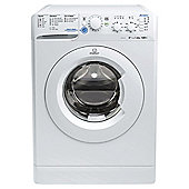 Indesit Innex Washing Machine,  XWC61452W, 6KG Load, White