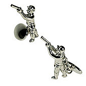 Shooting Novelty Themed Chainlink Cufflinks