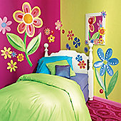 Flower Power Giant Children's Wall Stickers