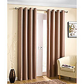 Enhanced Living Wetherby Eyelet Natural Curtains 117X137cm
