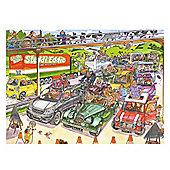 Jumbo Wasgij Original 1000 Piece Jigsaw - No.19 puzzle Cone-Gestion