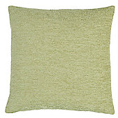 Tesco Chenille Green Cushion