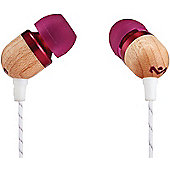 House Of Marley Smile Jamaica Earphones (Purple with microphone)