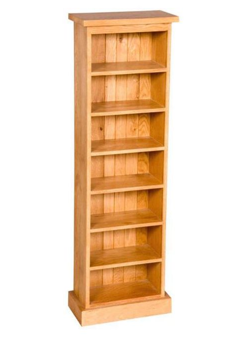 Elements Rustic Oak Double CD Rack