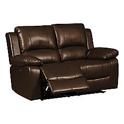 Jordan Two Seater Recliner Sofa Brown