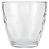 Tesco Basics Bubbles Ba+C285rrel Mixer Glass, Single