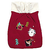 Mamas  Papas Toy Sack Traditional Xmas