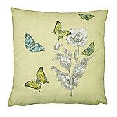 Dreams n Drapes Aviana Lemon Cushion Cover - 43x43cm