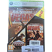 Compilation Rainbow Six Vegas 1 + 2 /x360 - Xbox-360