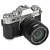 Fuji X-T10 Compact System Camera, 16Mp CMOS Sensor, 16-50mm Lens Kit, Silver
