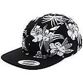 Famous Stars and Straps Fambiscus 5 Panel Hat - Black/White - Black