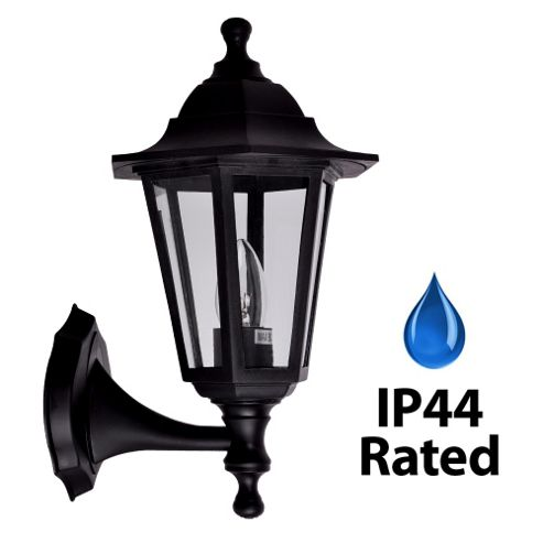 Buy IP44 Outdoor Up / Down Wall Light in Black from our Wall & Porch Lights range - Tesco
