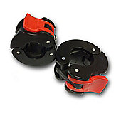 Body Power Standard Quick Lock Collars Pair