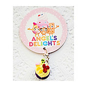 Children's Fresh Fruit Cupcake Clip on Charm