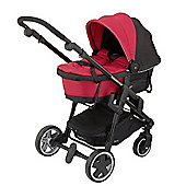 Kiddy Click n Move 3 Carrycot (Cranberry)