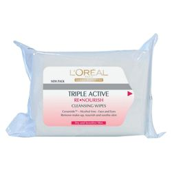 L'Oreal Paris Renourish Wipes