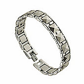 Urban Male Solid Tungsten Carbide Panther Link 12mm Magnetic Bracelet