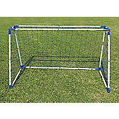 Kids Professional 6 Foot Steel A Framed Practice Football Goal Posts