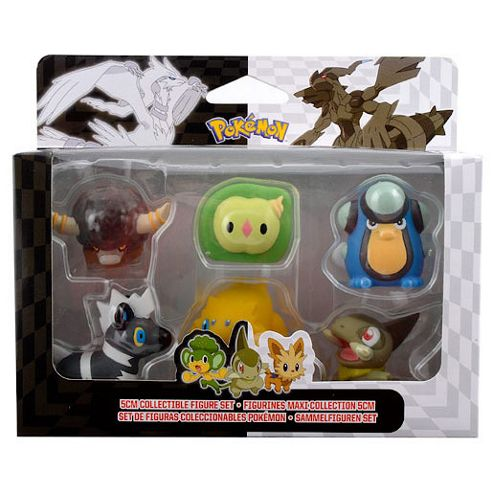Pokemon Black and White - 6 Figure R3 Pack