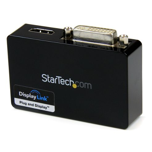 StarTech USB 3.0 to HDMI and DVI Dual Monitor External Video Card Adapter