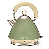 Morphy Richards 102001 Accents Sage Green Kettle - 1.5L