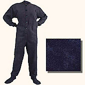 All in One Pyjamas for Adults - Navy (Extra Large)