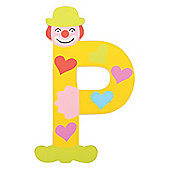Tatiri TA416 Crazy Clown Wooden Letter P