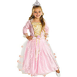 Child Rose Princess Costume Small