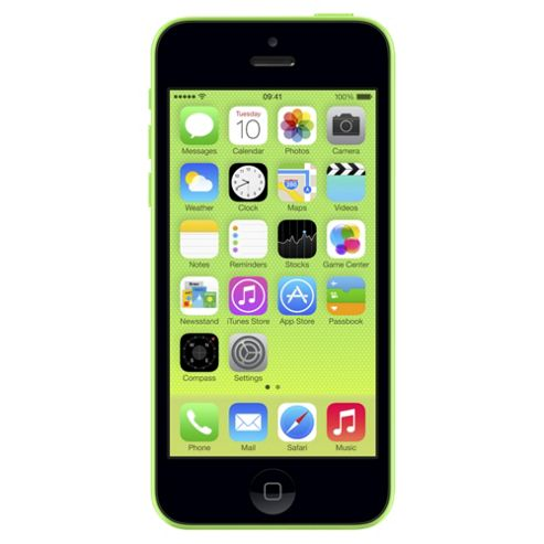 Tesco Mobile Apple iPhone 5c 8GB Green