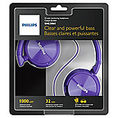 Philips SHL3060 On-Ear Headphones - Pink