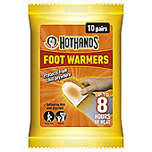 Hot Hands Foot Warmers, 10 Pairs