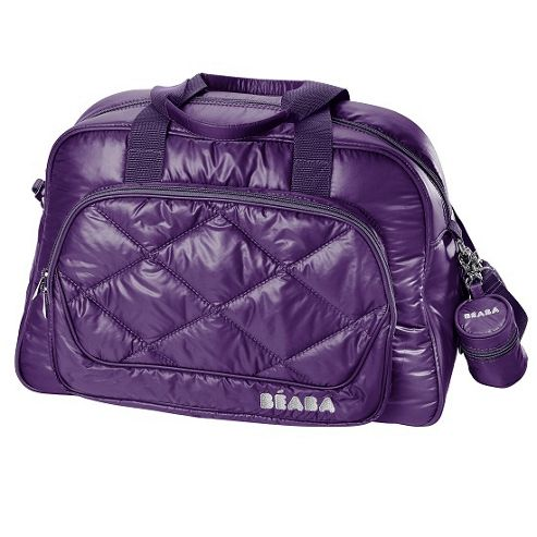 Beaba New York Nursery Changing Bag Plum